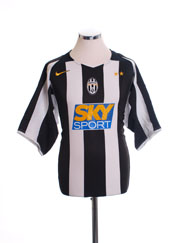2004-05 Juventus Home Shirt M