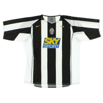 2004-05 Juventus Nike Home Shirt L