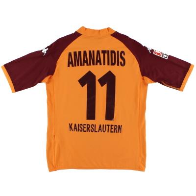 2004-05 Kaiserslautern Away Shirt Amanatidis #11 XL