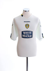 2004-05 Leeds Home Shirt L