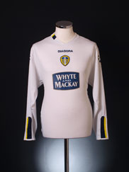 2004-05 Leeds Home Shirt L/S M
