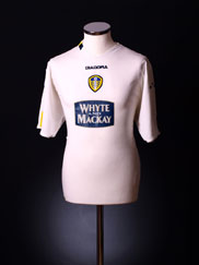 2004-05 Leeds Home Shirt M