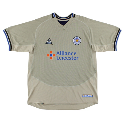 2004-05 Leicester Le Coq Sportif '120 Years' Third Shirt S
