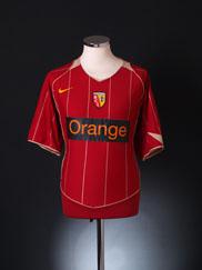 2004-05 Lens Away Shirt XL
