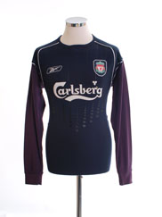 2004-05 Liverpool Goalkeeper Shirt *w/tags* S