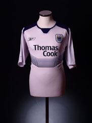2004-05 Manchester City Away Shirt L