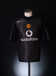 2004-05 Manchester United Nike Goalkeeper Shirt M