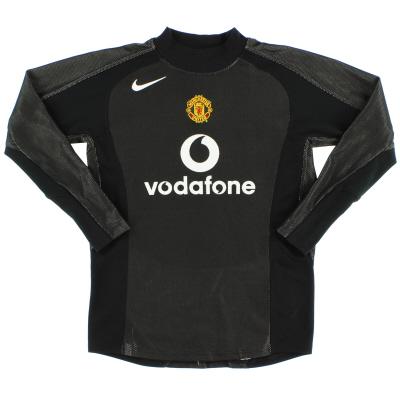 2004-05 Manchester United Goalkeeper Shirt M.Boys