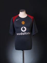 2004-05 Manchester United Nike Training Shirt M