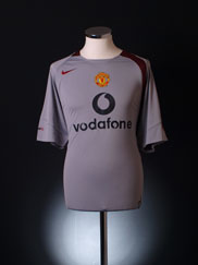 2004-05 Manchester United Nike Training Shirt L