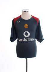 2004-05 Manchester United Training Shirt L