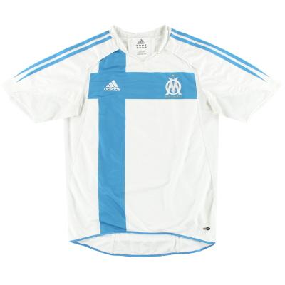 2004-05 Marseille adidas Player Issue Home Shirt M