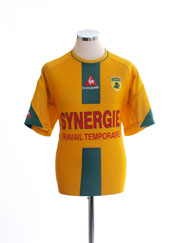 2004-05 Nantes Home Shirt XL