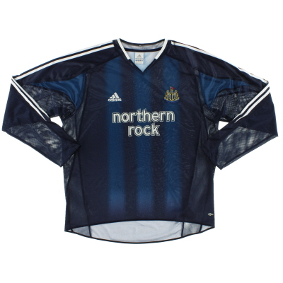 2004-05 Newcastle Away Shirt L/S XL