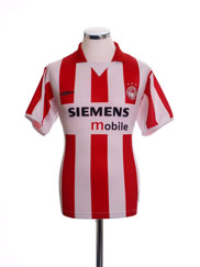 2004-05 Olympiakos Home Shirt L