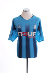 2004-05 Olympique Marseille Away Shirt XL