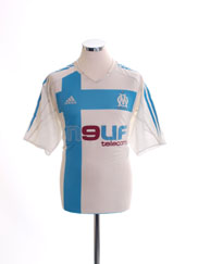 2004-05 Olympique Marseille Home Shirt L