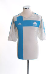 2004-05 Olympique Marseille Home Shirt XL
