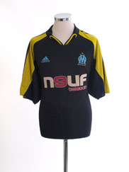 2004-05 Olympique Marseille Third Shirt XXL