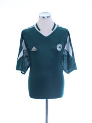 2004-05 Panathinaikos Home Shirt *Mint* XL