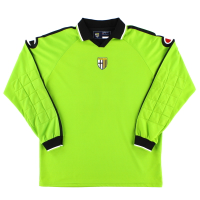 2004-05 Parma Player Issue Goalkeeper Shirt #22 XXL