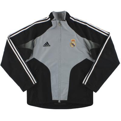 2004-05 Real Madrid adidas Presentation Jacket  M