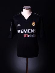 2004-05 Real Madrid Away Shirt M