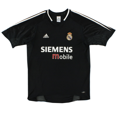 2004-05 Real Madrid adidas Away Shirt XL