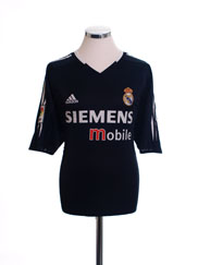 2004-05 Real Madrid Away Shirt S