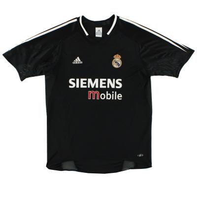 2004-05 Real Madrid adidas Away Shirt XXL