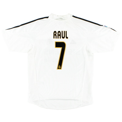 2004-05 Real Madrid Home Shirt Raul #7 *w/tags*