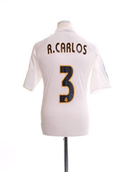 2004-05 Real Madrid Home Shirt R.Carlos #3 M
