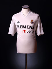 2004-05 Real Madrid Home Shirt M