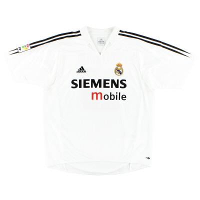 2004-05 Real Madrid adidas Home Shirt XXL