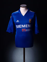 2004-05 Real Madrid Third Shirt XL