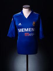 2004-05 Real Madrid Third Shirt XL
