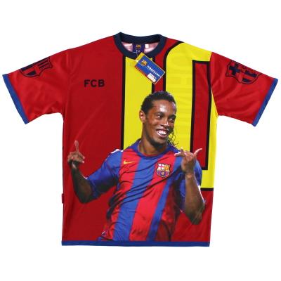 2004-05 Ronaldinho Fans Shirt *BNWT* S