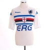2004-05 Sampdoria Away Shirt Flachi #10 M