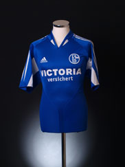 2004-05 Schalke Home Shirt M