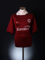 2004-05 Sparta Prague Home Shirt XL