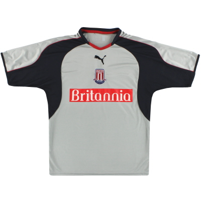2004-05 Stoke City Puma Away Shirt S