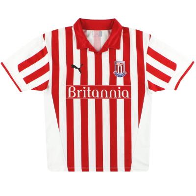 2004-05 Stoke City Puma Home Shirt M