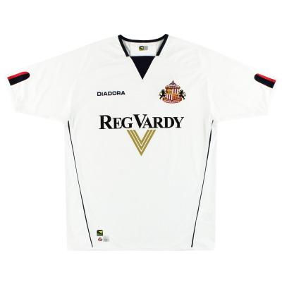 2004-05 Sunderland Diadora Away Shirt M