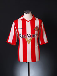 2004-05 Sunderland Home Shirt L
