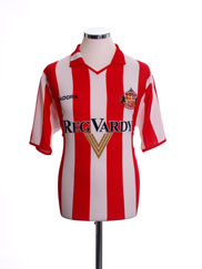 2004-05 Sunderland Home Shirt M