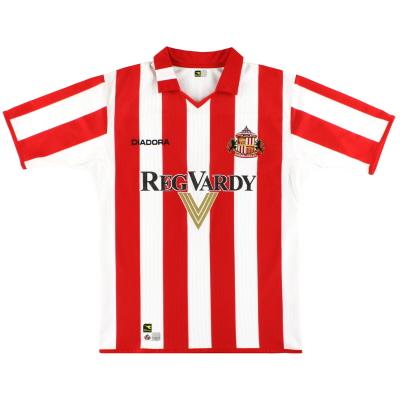2004-05 Sunderland Diadora Home Shirt XL.Boys