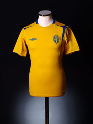 2004-05 Sweden Centenary Home Shirt XL