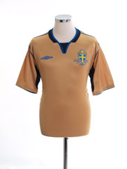 2004-05 Sweden Centenary Shirt L