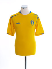 2004-05 Sweden Home Shirt L