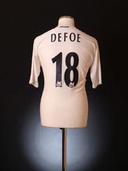 2004-05 Tottenham Home Shirt Defoe #18 XL